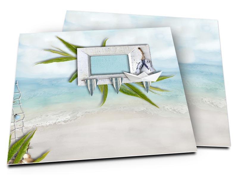 faire part mariage les les une plage paradisiaque r 1001. Black Bedroom Furniture Sets. Home Design Ideas