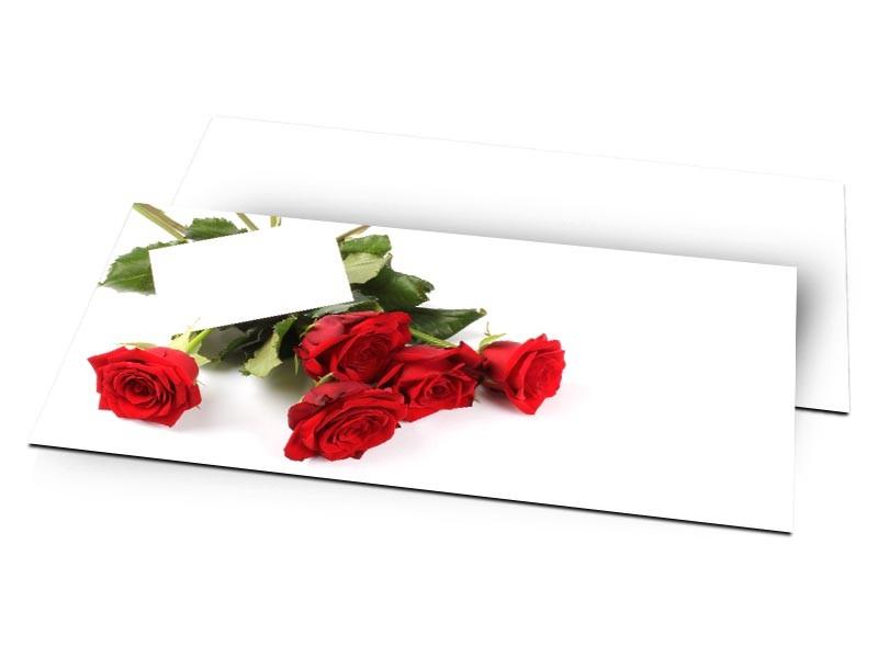 Remerciements mariage - Dites-le avec des roses