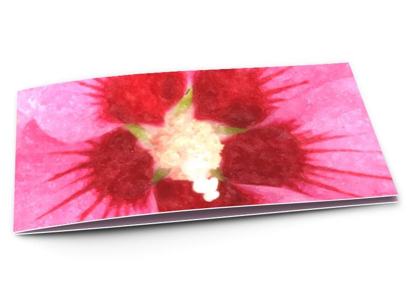 Remerciements mariage - Abstrait floral