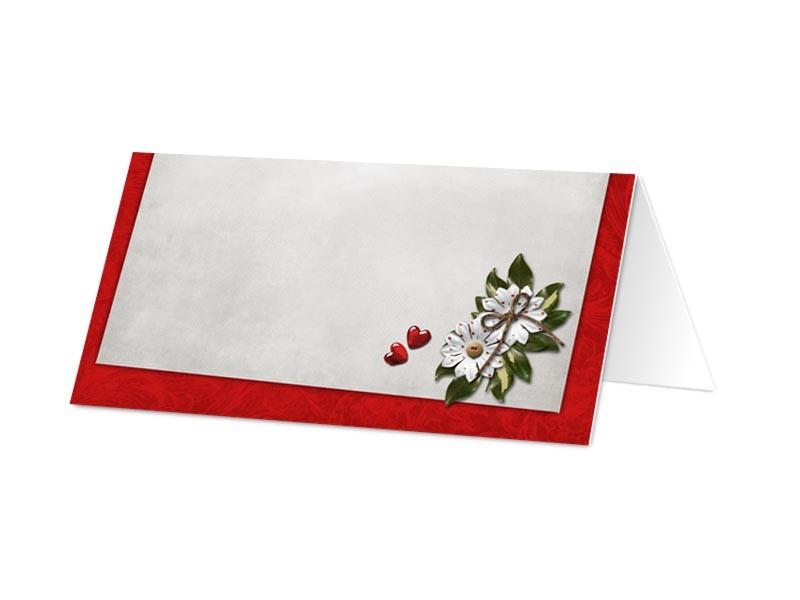 Marque place mariage un tableau rouge r - Tableau marque place mariage ...