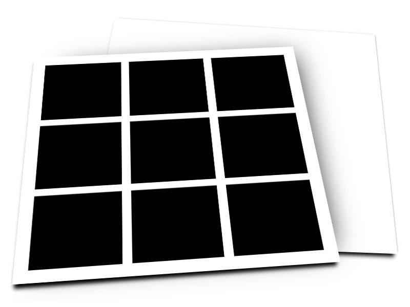 Pele-Mele - Pêle-mêle style 24: Mosaïque 9 photos carrées