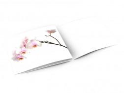 Faire-part mariage - Orchidée blanche