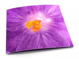 Faire-part mariage - Lumière violette