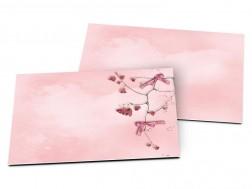 Carton d'invitation mariage - Deux coeurs unis