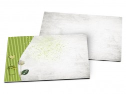 Carton d'invitation mariage - Tous en coeur