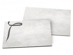 Carton d'invitation mariage - Vrille de ruban