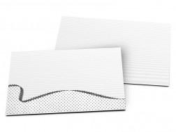 Carton d'invitation mariage - Une vague de pois