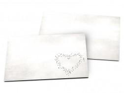 Carton d'invitation mariage - Coeur de lumière