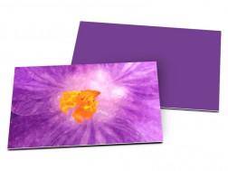Carton d'invitation mariage - Lumière violette