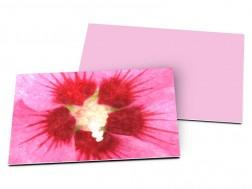 Carton d'invitation mariage - Abstrait floral