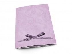 Menu mariage - Un petit noeud violet