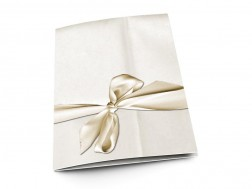 Menu mariage - Précieuse lettre