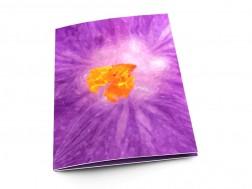 Menu mariage - Lumière violette