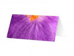 Marque-place mariage - Lumière violette